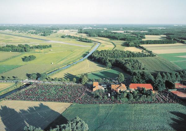 Luftbild Bikertreff Motorradtreff Brocker Mühle